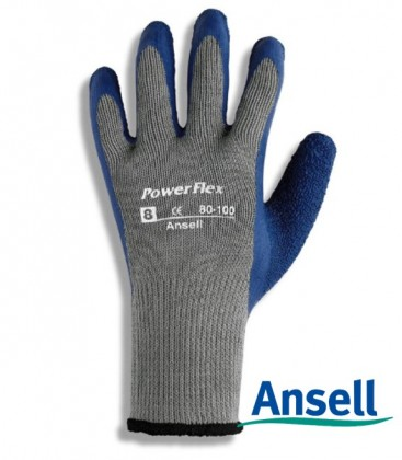 80-100 Guante PowerFlex  Ansell