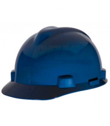 Casco azul con suspension Fas-Trac III