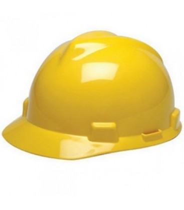 Casco amarillo con suspension Staz-On