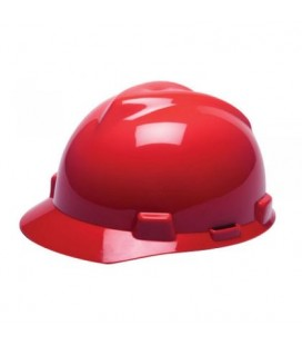 Casco rojo con suspensión Staz-On M2303531AR MSA