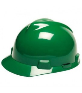 Casco verde con suspensión Staz-On M2304601AR MSA