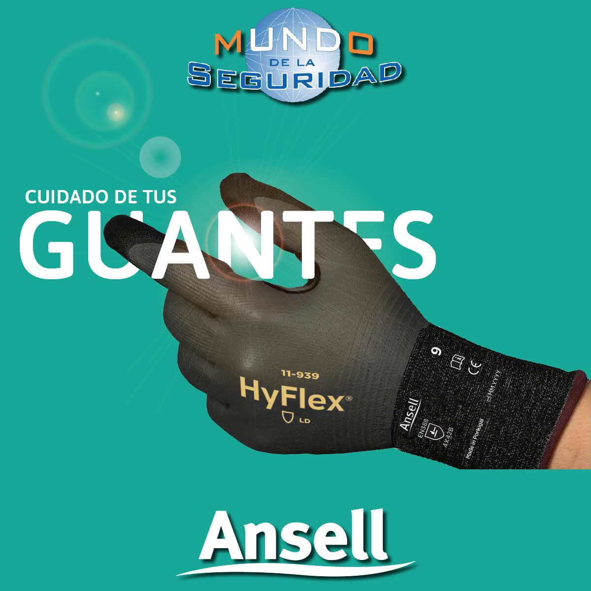 Cuidado guantes reutilizables Hyflex