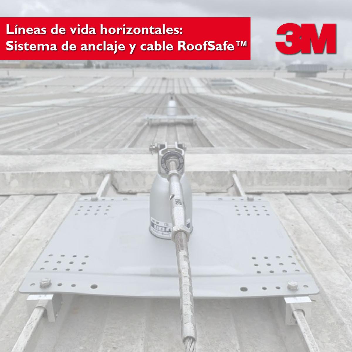 Líneas de vida horizontales 3M