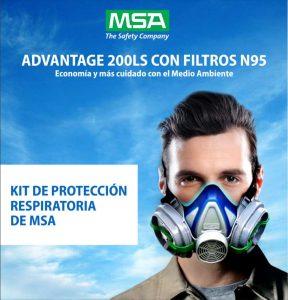 Kit de Proteccion Respiratoria MSA